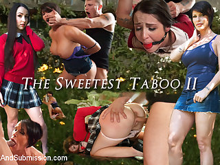 Mr. Pete & Shay Fox & Lola Foxx in THE SWEETEST TABOO 2: A FEATURE PRESENTATION: Stepdaughter and Mother Bondage Fantasy Movie - SexAndSubmission