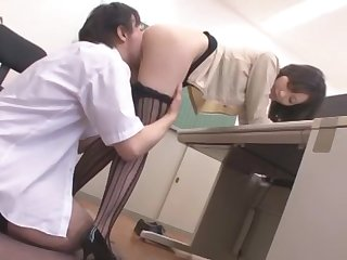 Crazy Japanese model Aoki Misora in Fabulous Teens, High Heels JAV video