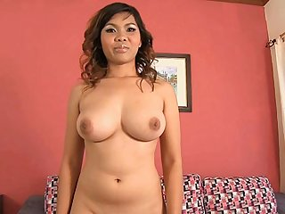Big Tittied Thai Cutie Arrives For A Gogo Interview - GogoBarAuditions