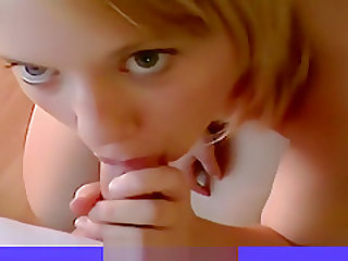 Blonde Teen Girlfriend Hot Pov Blowjob